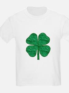 glitter shamrock T-Shirt
