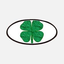 glitter shamrock Patch
