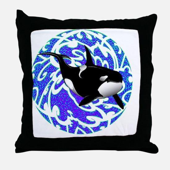 Unique Dive cancun Throw Pillow