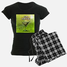 Dirty Martini (Green) Pajamas