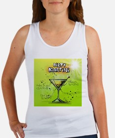 Dirty Martini (Green) Tank Top