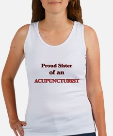 Proud Sister of a Acupuncturist Tank Top