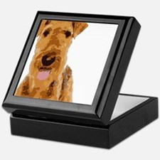 Airedales & Friends Gifts Keepsake Box
