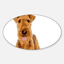 Airedales & Friends Gifts Decal