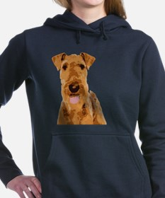 Airedales & Friends Gifts Women's Hooded Sweatshir