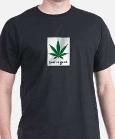 Cool Marijuana leaf T-Shirt