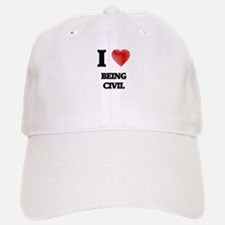 civil Baseball Baseball Cap