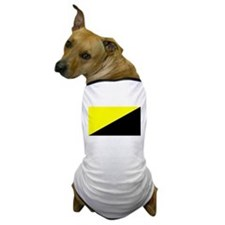 Anarcho-Capitalist Flag Dog T-Shirt