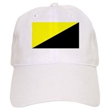 Anarcho-Baseball Capitalist Flag Baseball Cap