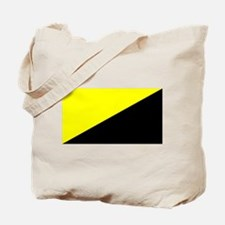 Anarcho-Capitalist Flag Tote Bag