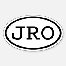 JRO Oval Oval Decal