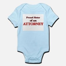 Proud Sister of a Attorney Body Suit
