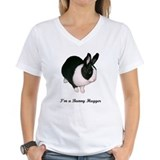 Rabbits Womens V-Neck T-shirts