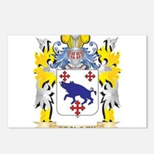 Crowley Coat of Arms - Fa Postcards (Package of 8)