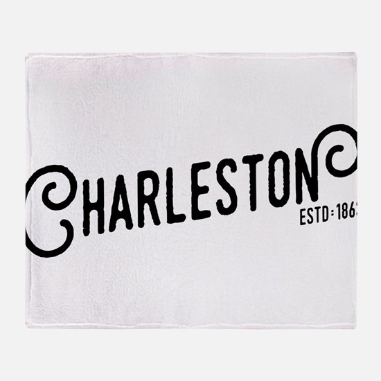 Charleston West Virginia Throw Blanket