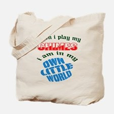 When i play my Chimes I'm in my own littl Tote Bag