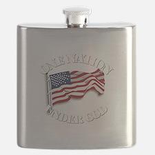 On Nation Under God Flask