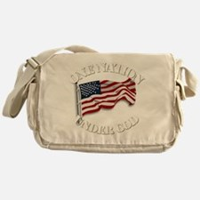 On Nation Under God Messenger Bag