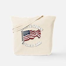 On Nation Under God Tote Bag