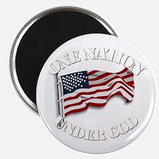 """On Nation Under God 2.25"""" Magnet (100 Magnets"""