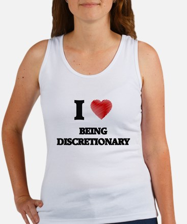 Being Discretionary Tank Top