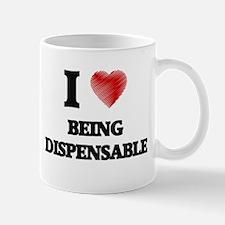 Being Dispensable Mugs