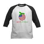 AMERICHRISTMAS Kids Baseball Jersey