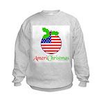 AMERICHRISTMAS Kids Sweatshirt