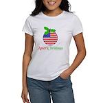 AMERICHRISTMAS Women's T-Shirt