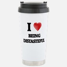 Being Distasteful Stainless Steel Travel Mug