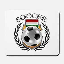 Hungary Soccer Fan Mousepad