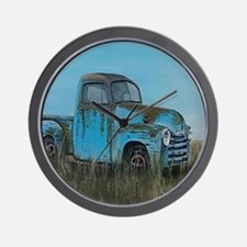 Cool Chevy trucks Wall Clock