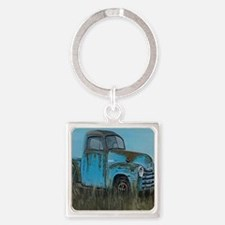 Cute Vintage country Square Keychain