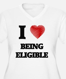 Being Eligible Plus Size T-Shirt