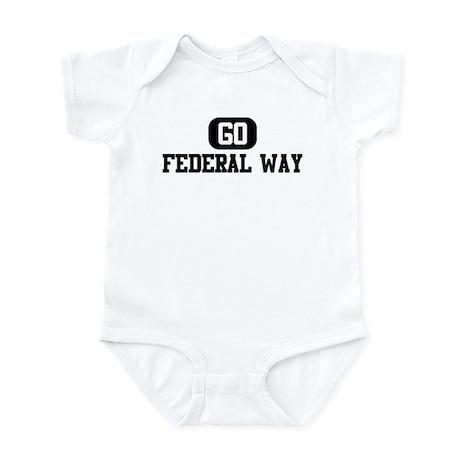 GO FEDERAL WAY Infant Bodysuit