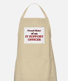 Proud Sister of a It Support Officer Apron