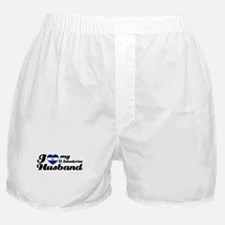 I love my El Salvadorian Husband Boxer Shorts