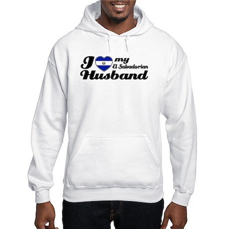 I love my El Salvadorian Husband Hooded Sweatshirt