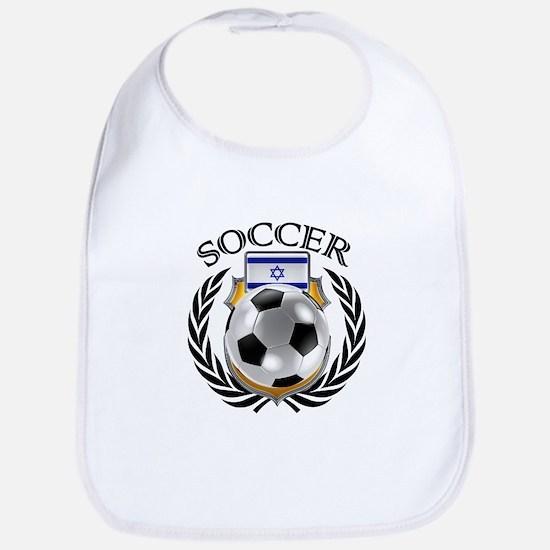 Israel Soccer Fan Bib