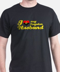 I love my Angolan Husband T-Shirt