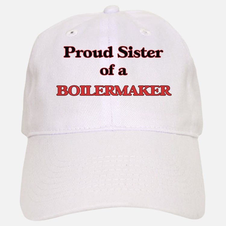 Proud Sister of a Boilermaker Baseball Baseball Cap