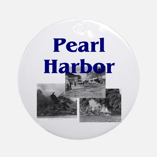 ABH Pearl Harbor Round Ornament