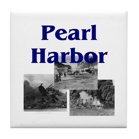 ABH Pearl Harbor Tile Coaster