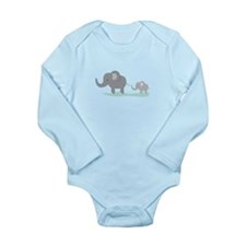 Elephant And Cub Body Suit