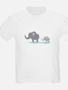 Elephant And Cub T-Shirt