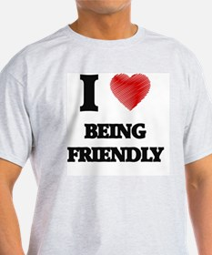 Being Friendly T-Shirt