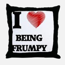 Being Frumpy Throw Pillow