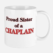 Proud Sister of a Chaplain Mugs