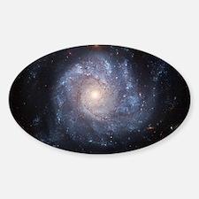 Spiral Galaxy (NGC 1309) Sticker (Oval)