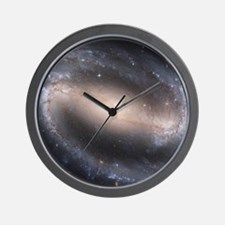 Barred Spiral Galaxy (NGC 1300) Wall Clock